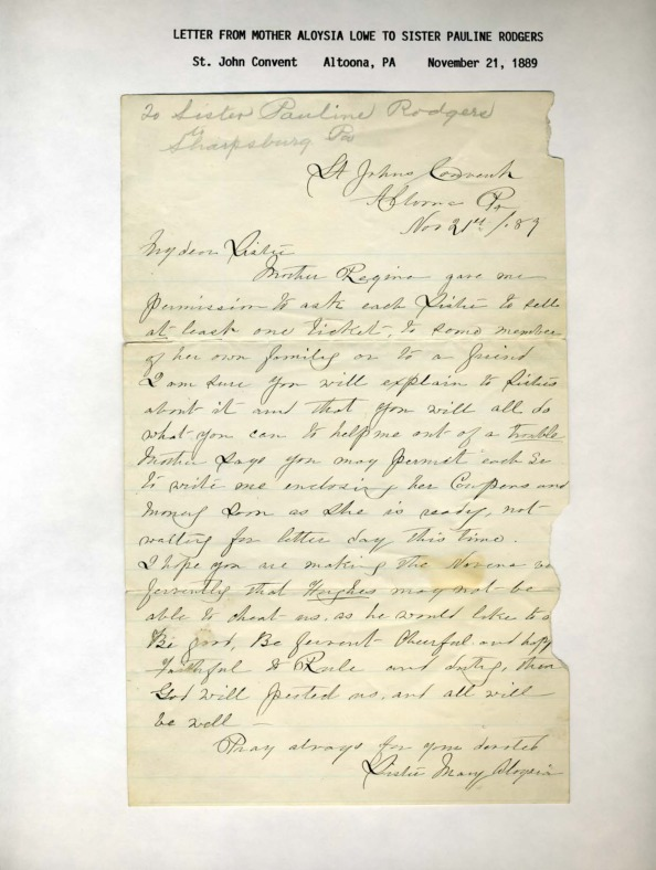 Mother Aloysia Letter 4 1889 to Sr. Pauline Rodgers.pdf